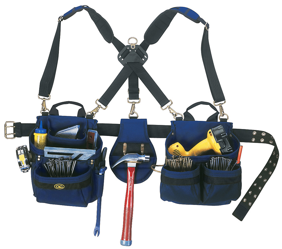 CLC Work Gear Tool Belt- Tool Belt 5Pc 23Pkt From Clc Work Gear (Part Number 1614)