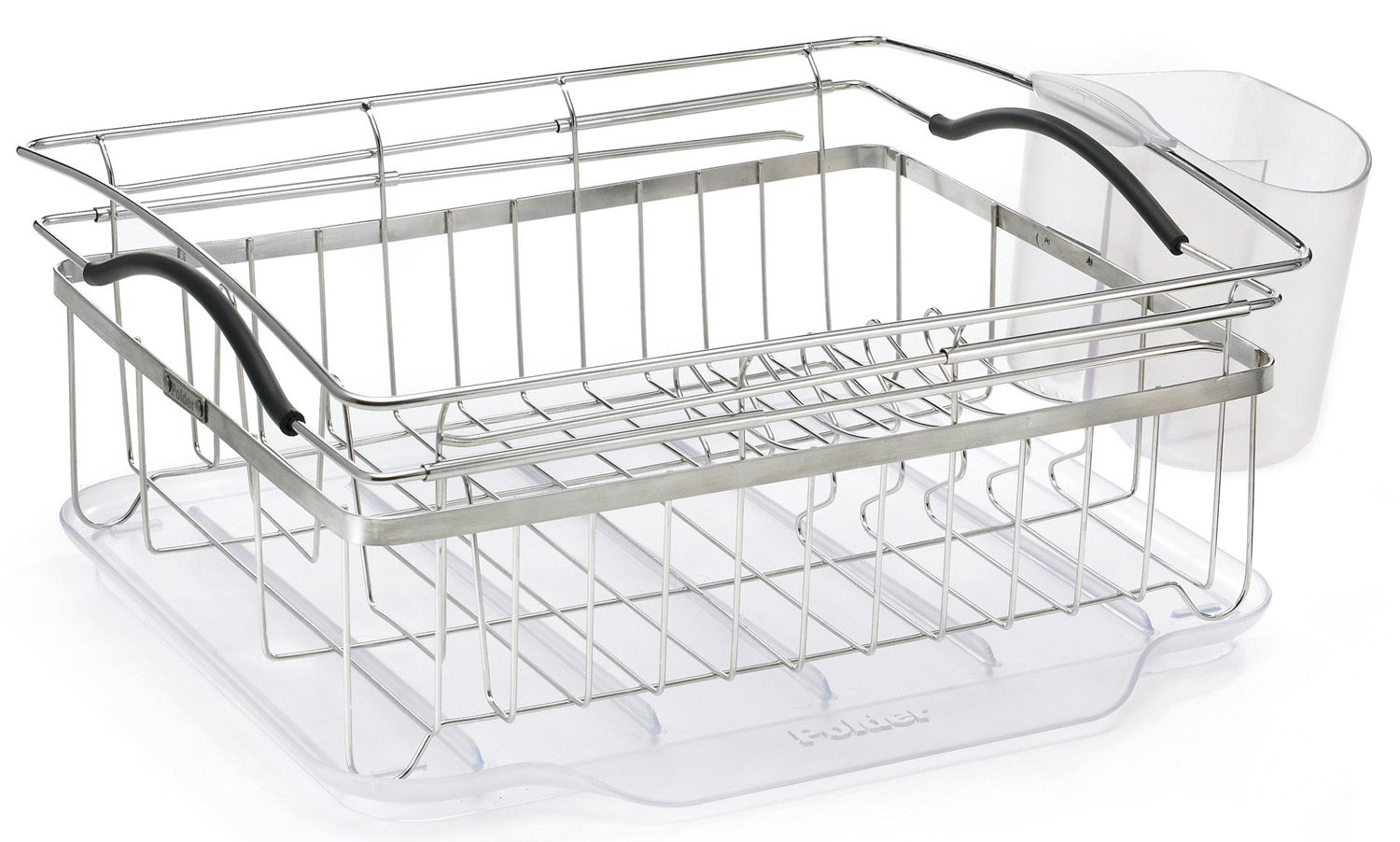Polder Dish Rack- Compact Dish Rack From Polder (Part Number KTH-250)