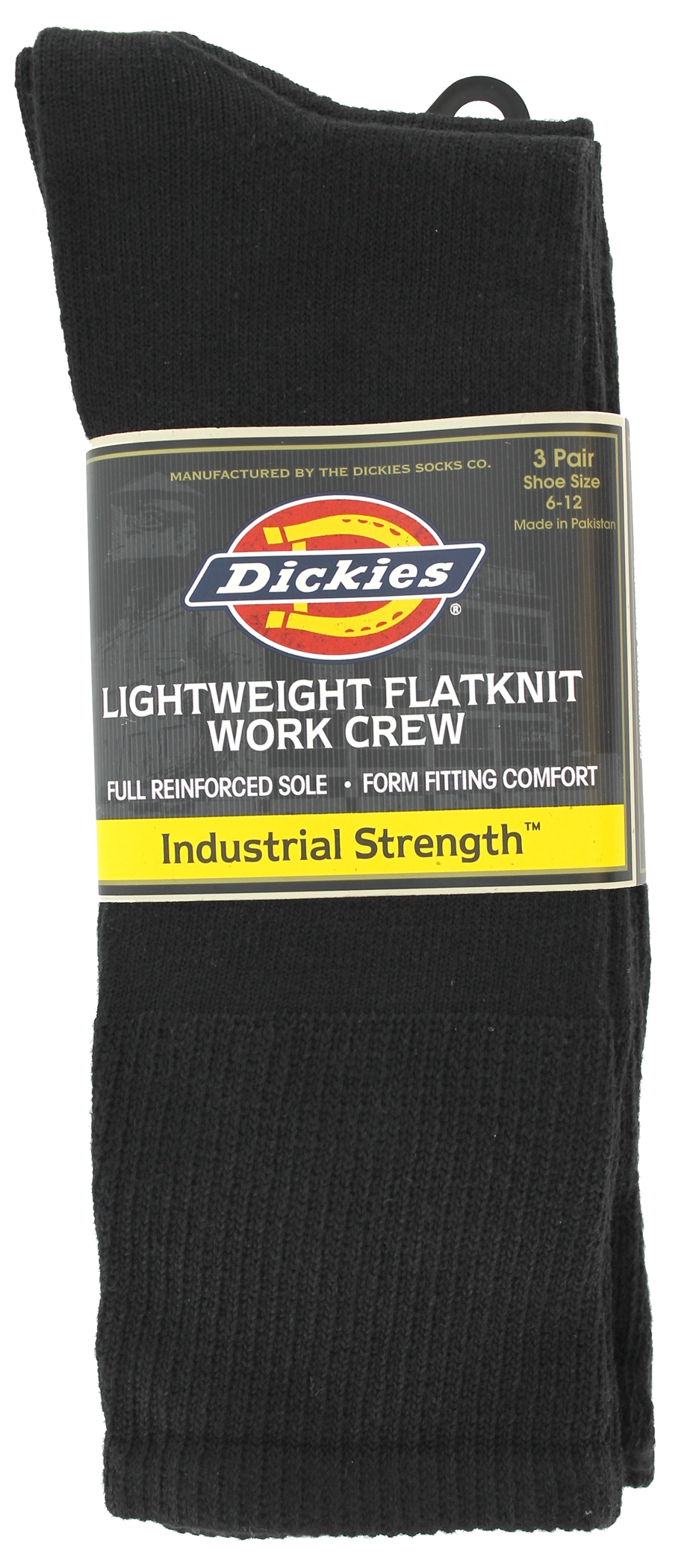 Dickies Sock Flt Knit 3Ct